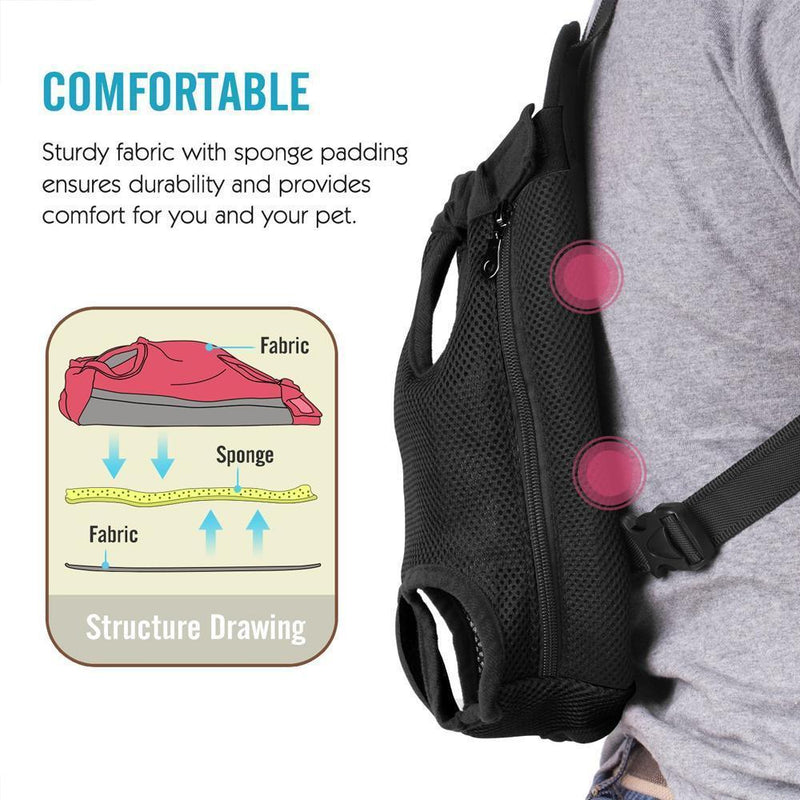 Portable Dog Front Carrier Backpack