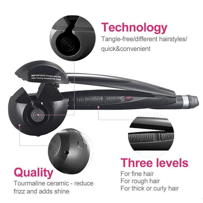 Auto Rotating Hair Curler