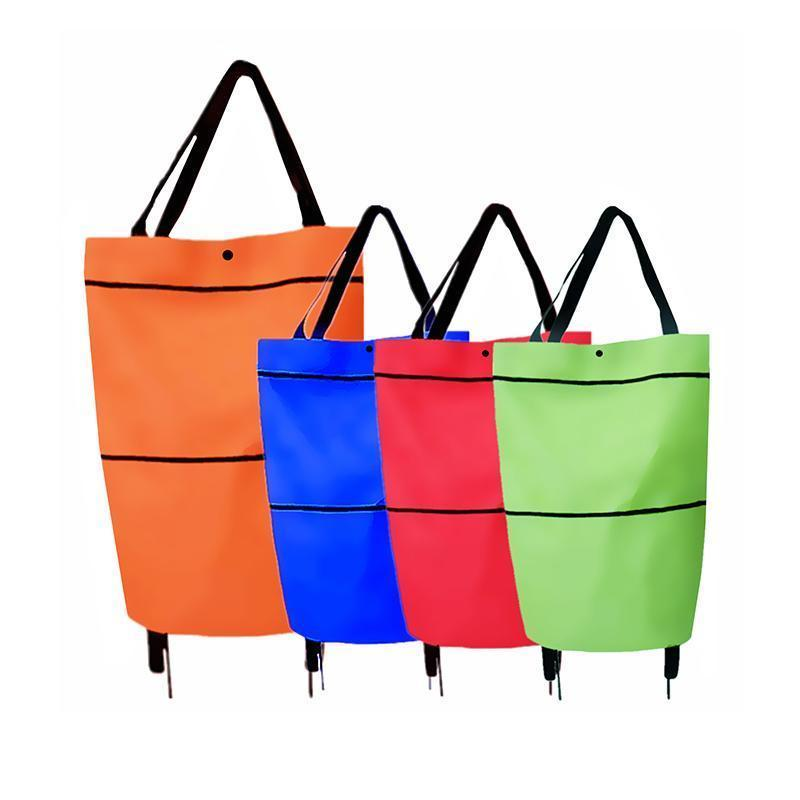 Shopping bag folding bag