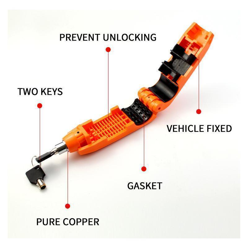 CapsLock Effective Motorcycle Grip Lock Security