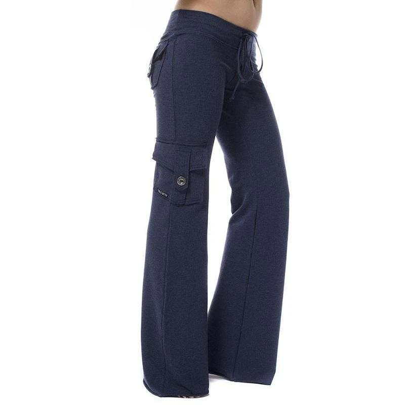 Elastic Eco-friendly Bamboo Yoga Pants