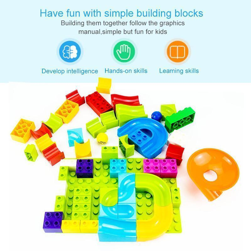 Big Building Track Blocks