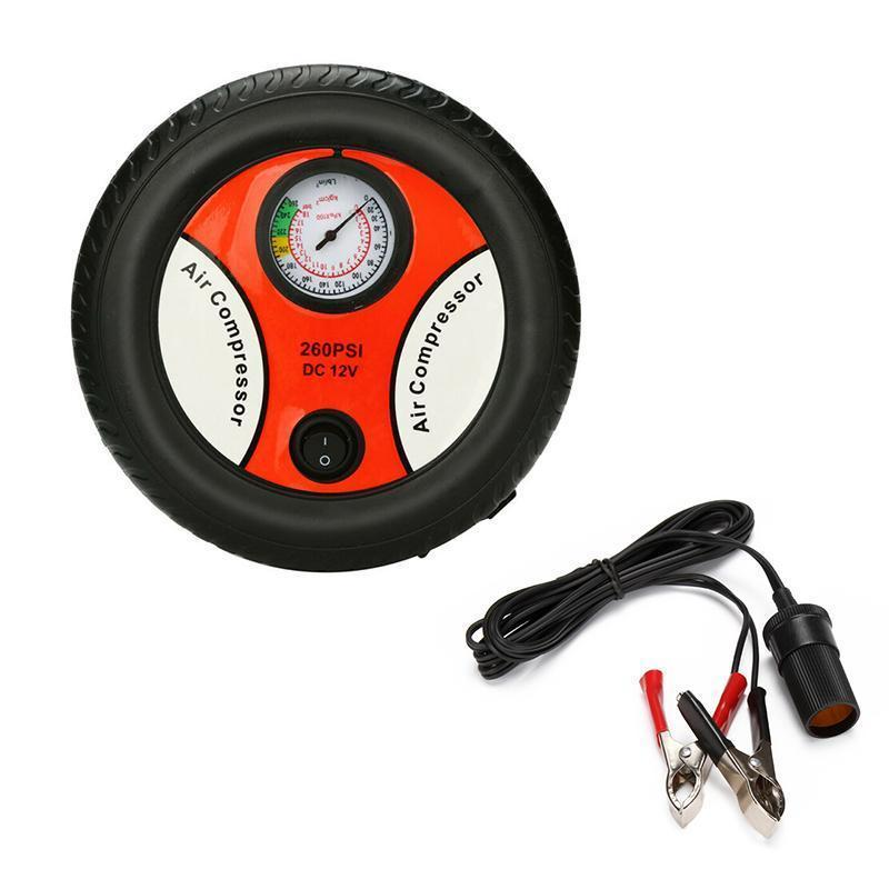 Mini Car Tire Inflator Pump