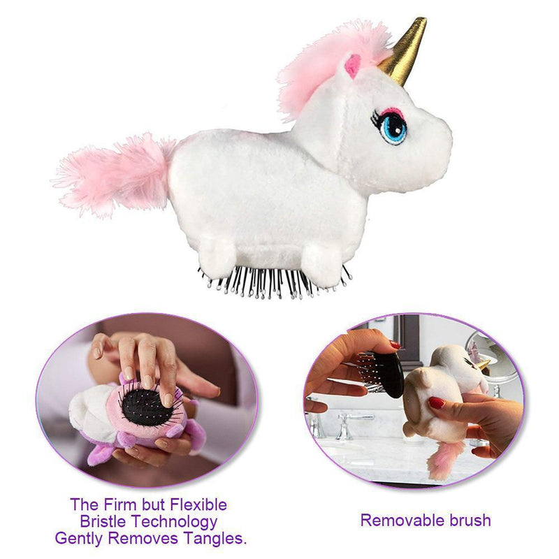 Pets Hair Comb The Detangling Brush in a Plush