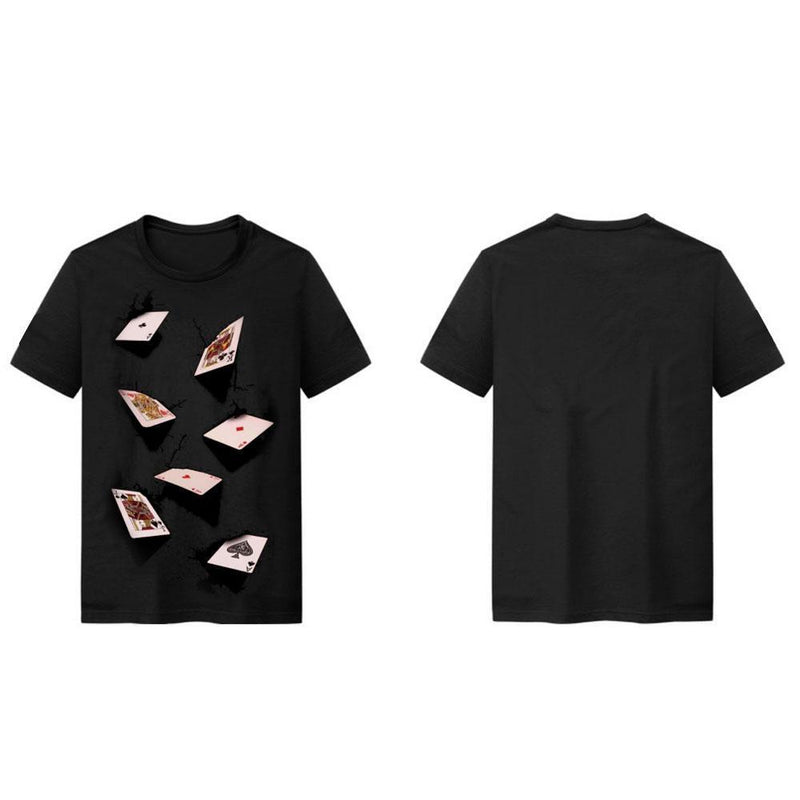 3D Printing Playing Cards T-Shirt