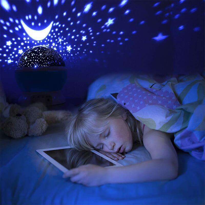 Night Light Romantic Starry Sky LED Projector Lamp