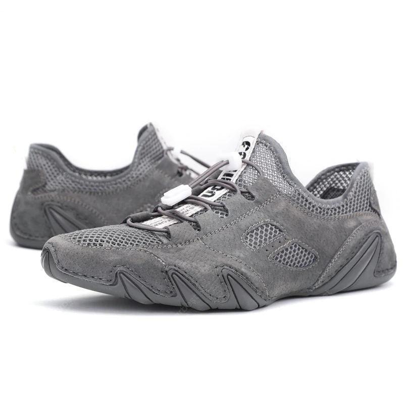 Men's Octopus Mesh Fabric Breathable Casual Shoes