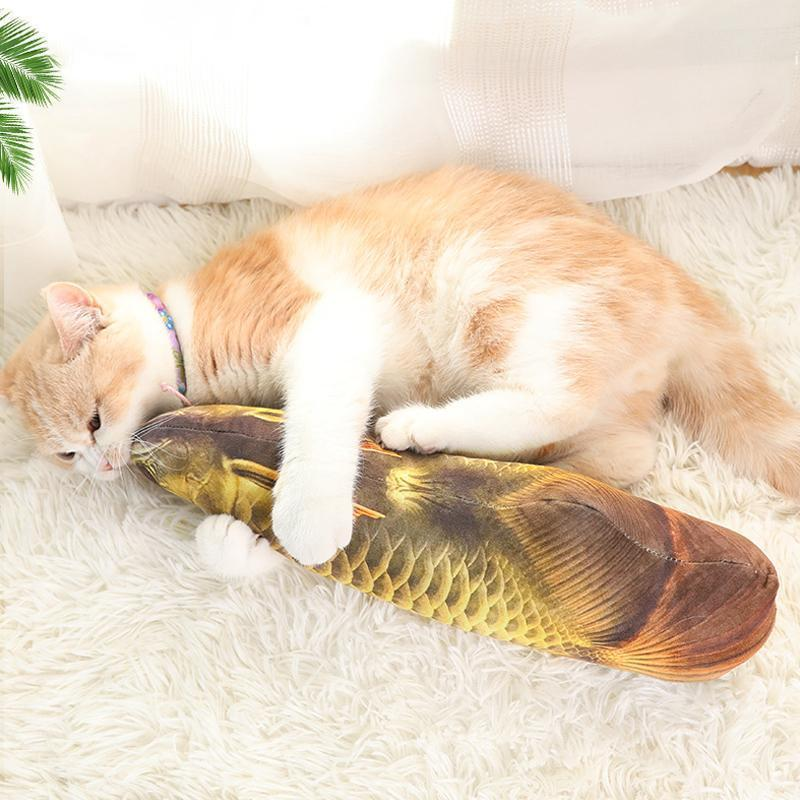 Catnip fish toy