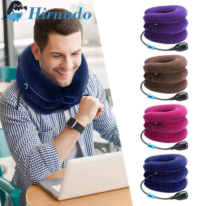 Cervical Traction Device, Inflatable Neck Support