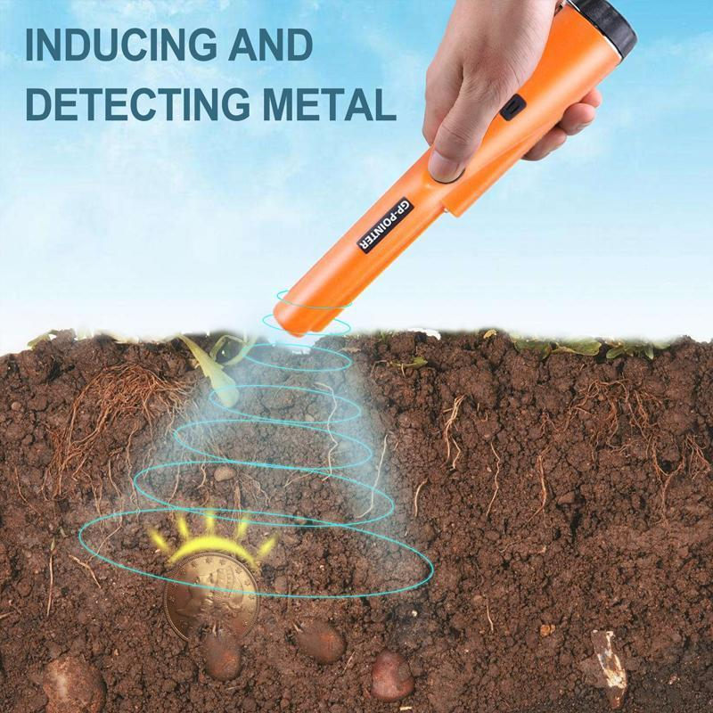 Handheld Pin Pointer Metal Detector Wand