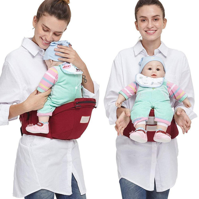 Adjustable infant seat carrier