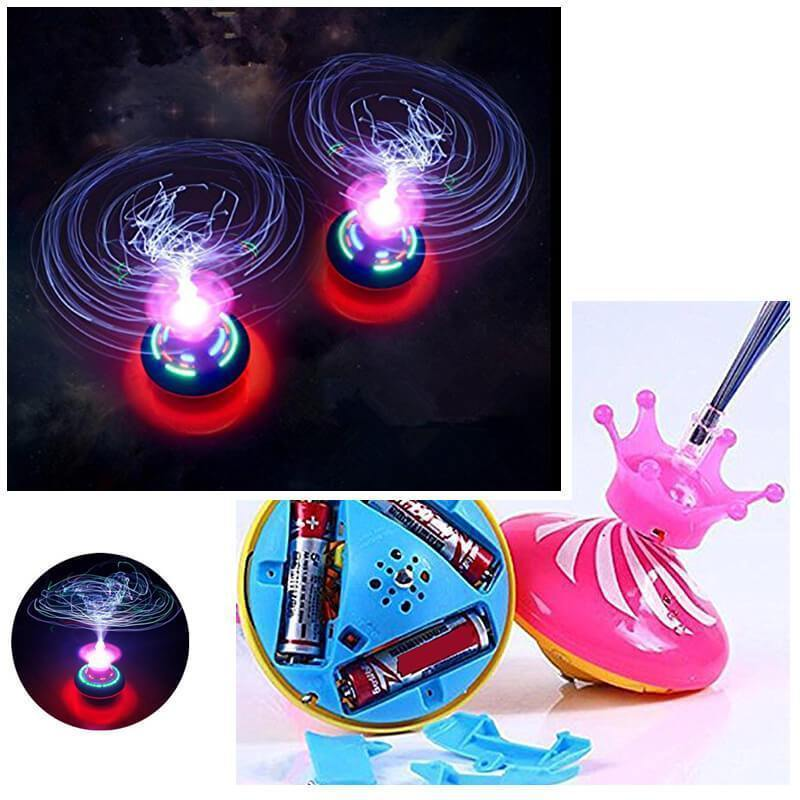 Flashing Spinning Gyro Toy