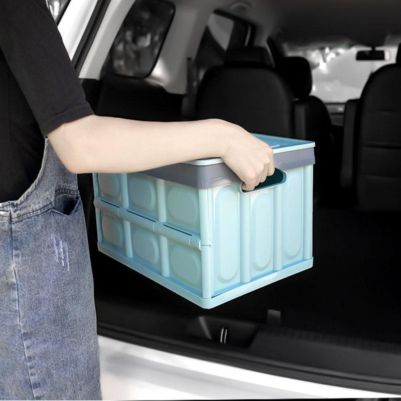 Collapsible Plastic Storage Box