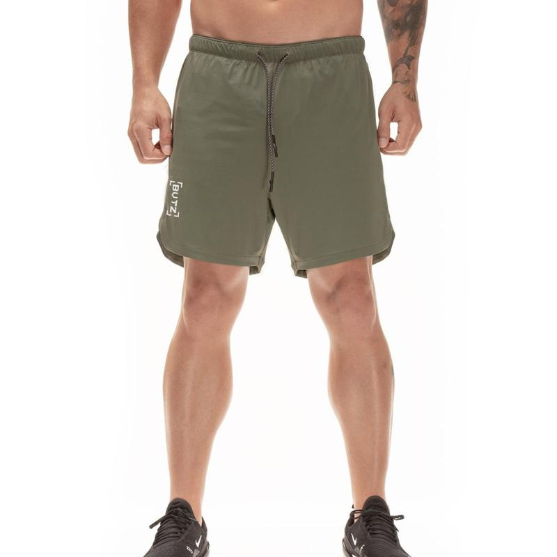 2 in 1 Secure Pocket Fitness Shorts