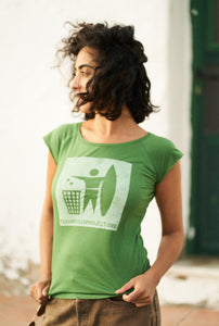 COP bamboo t-shirt / Green