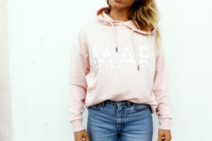 MAR pink hoody / Organic cotton