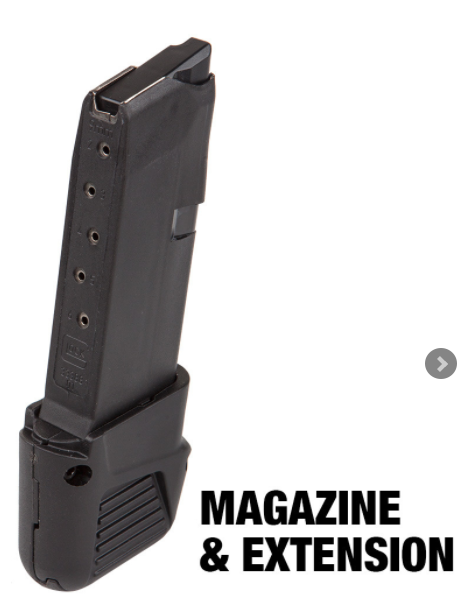 Glock 43 Magazine / Extension