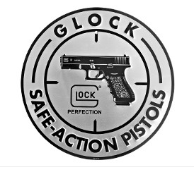 Glock Aluminum Sign - CURRENTLY OUT OF STOCK