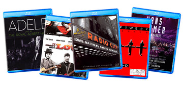 The Very Best Music/Concert Blu-ray Demo Blu-ray Discs