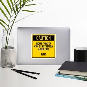Sticker: Caution HT Addiction
