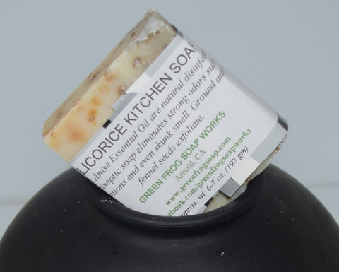 Licorice Kitchen Soap
