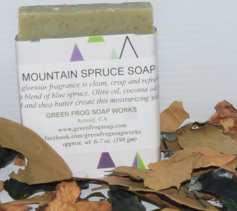 Mountain Spruce Soap aka Santa Spruce