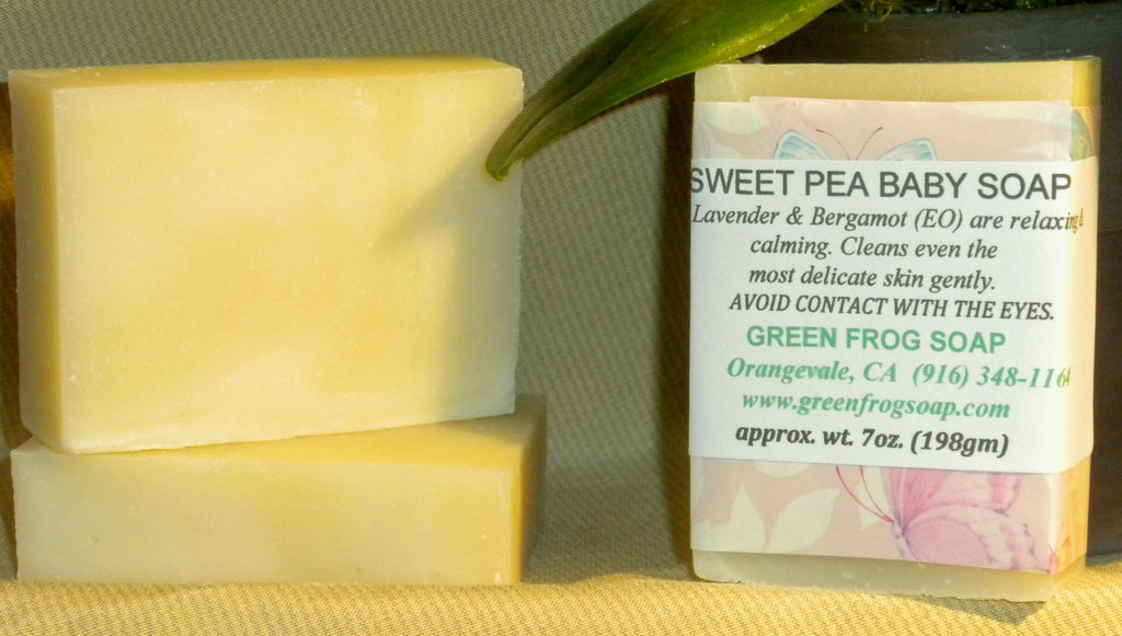 Sweet Pea Baby Soap