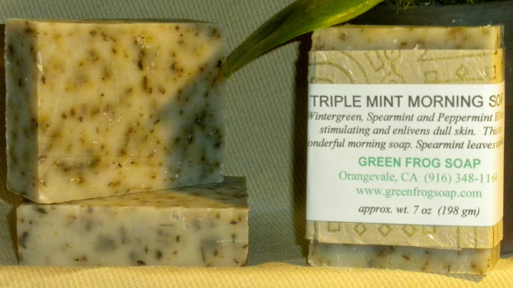 Triple Mint Morning Soap