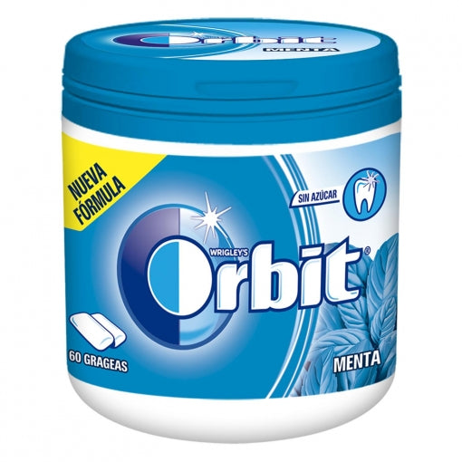 Chicles Sabor Menta Orbit 60 Uds