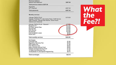 New Cable Company Fees! How to lower them forever!!!