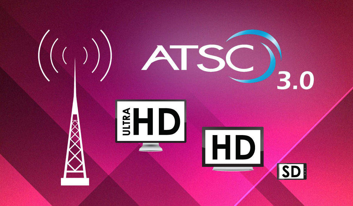 ATSC 3.0 Free Over the Air TV