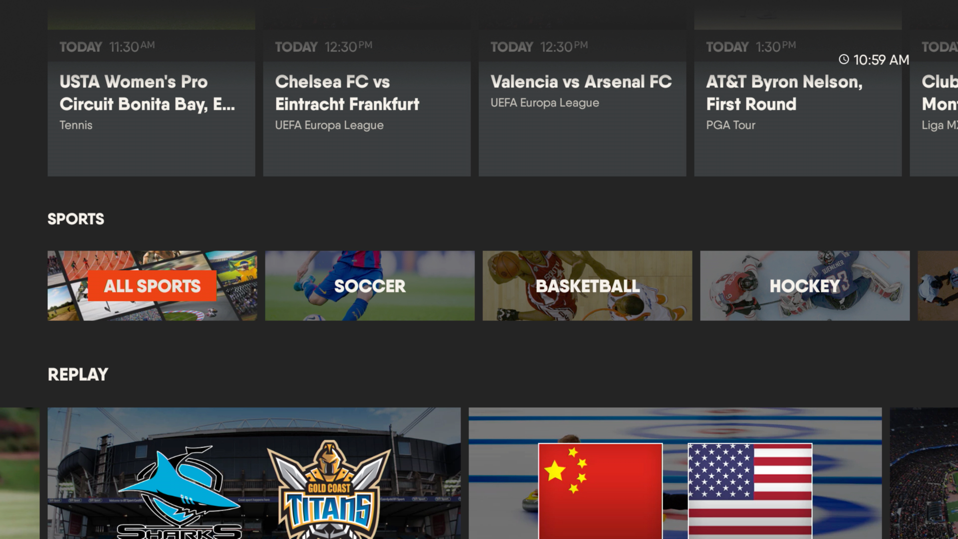 AndroidTV Live Sports Streaming