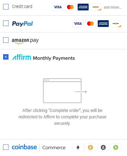 Skystream Affirm Payment
