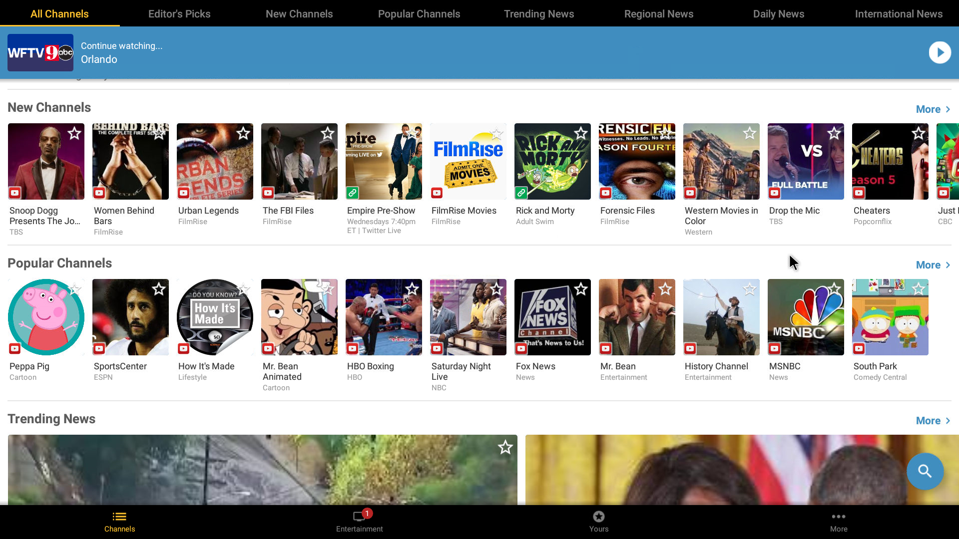 Free TV Shows App Android Streaming