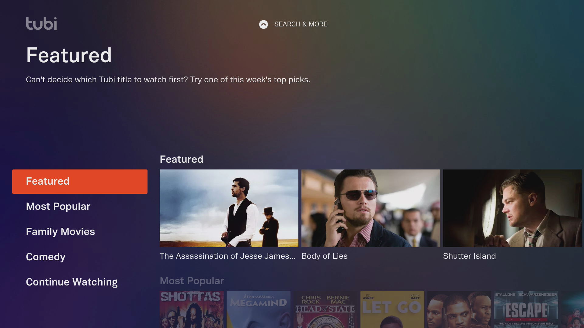 Tubi TV Free Streaming App
