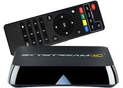 SkyStream X4 Android TV Box with Remote