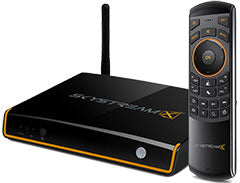 SkyStream X5 Android TV Box with Remote