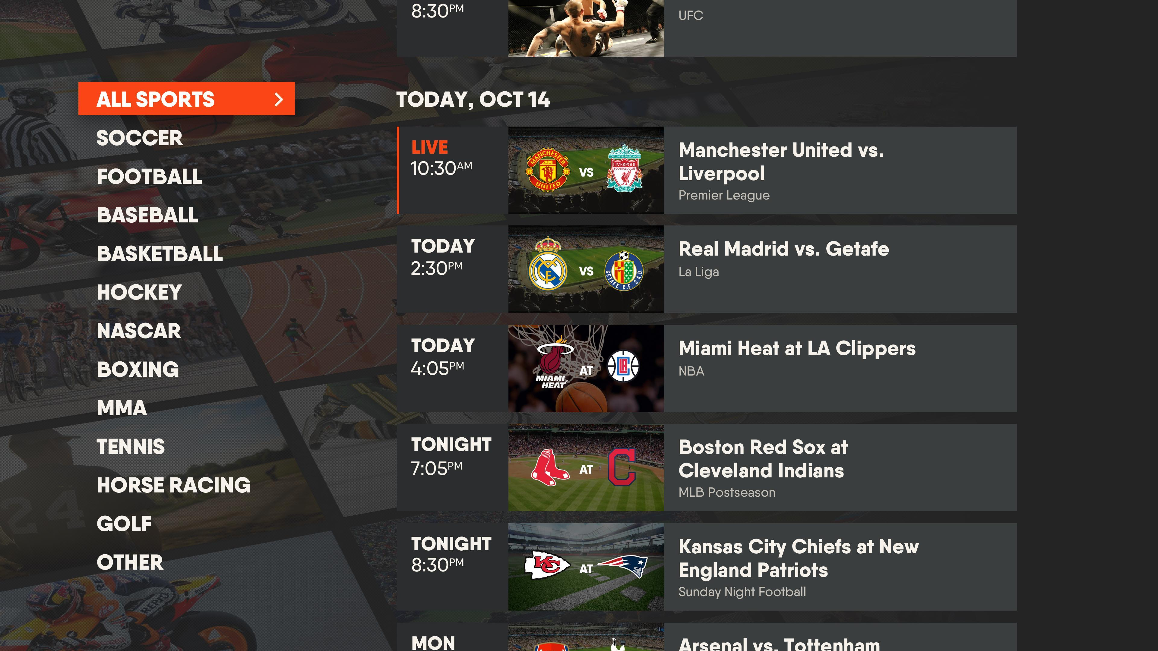 FuboTV Live TV Streaming