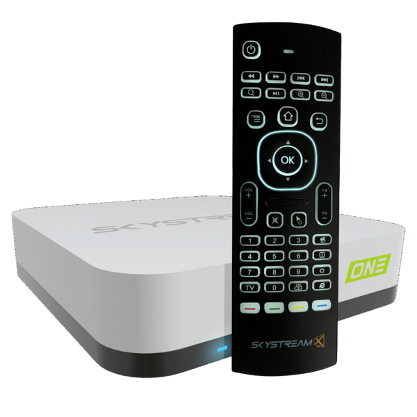Cable Cutting Packages - Skystream ONE Android TV Box Airmouse Package