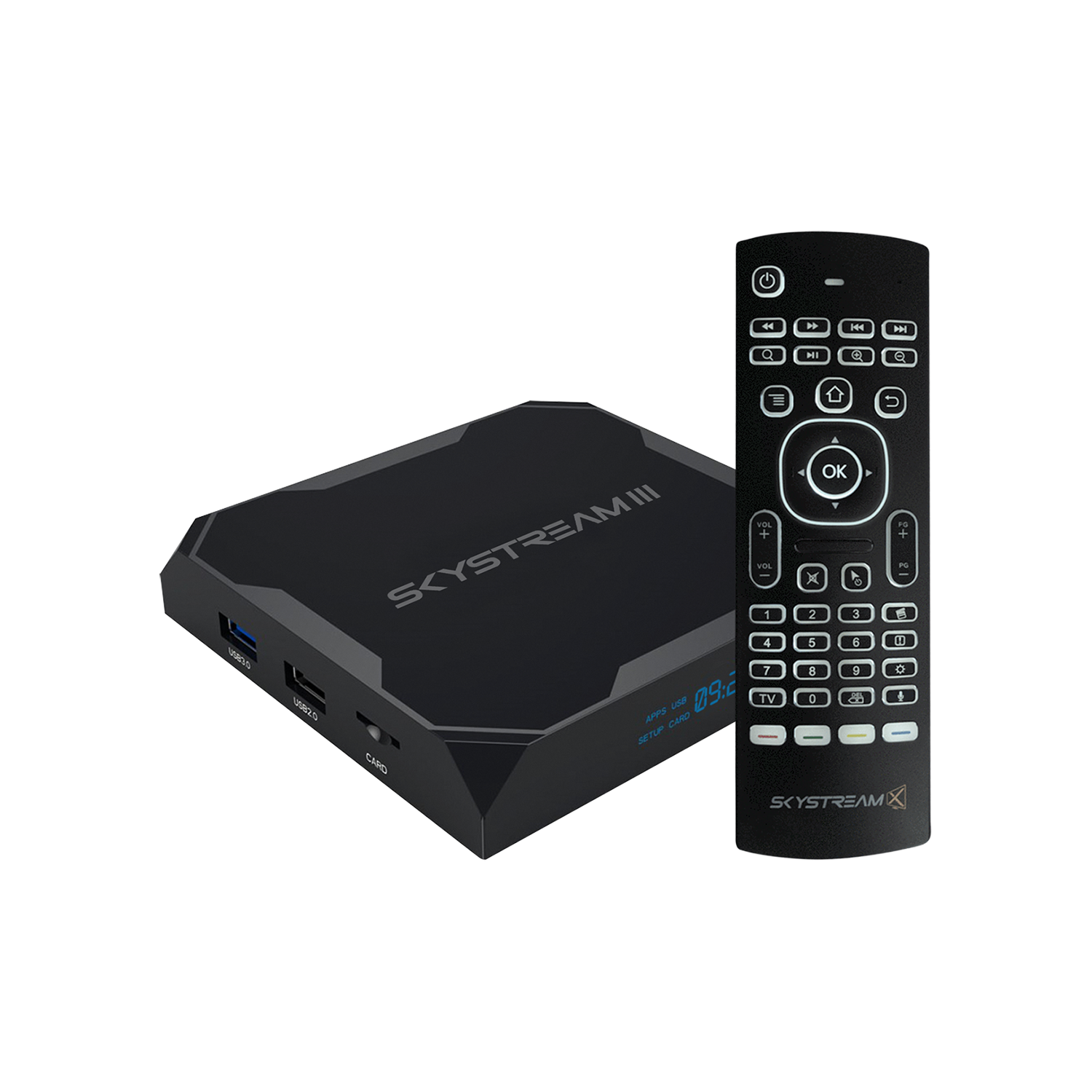 Stream Android To Tv >> Skystream Three Android Tv Box With Air Mouse Remote Skystream