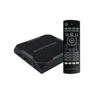 SkyStream Three Android TV Box with Air Mouse Remote