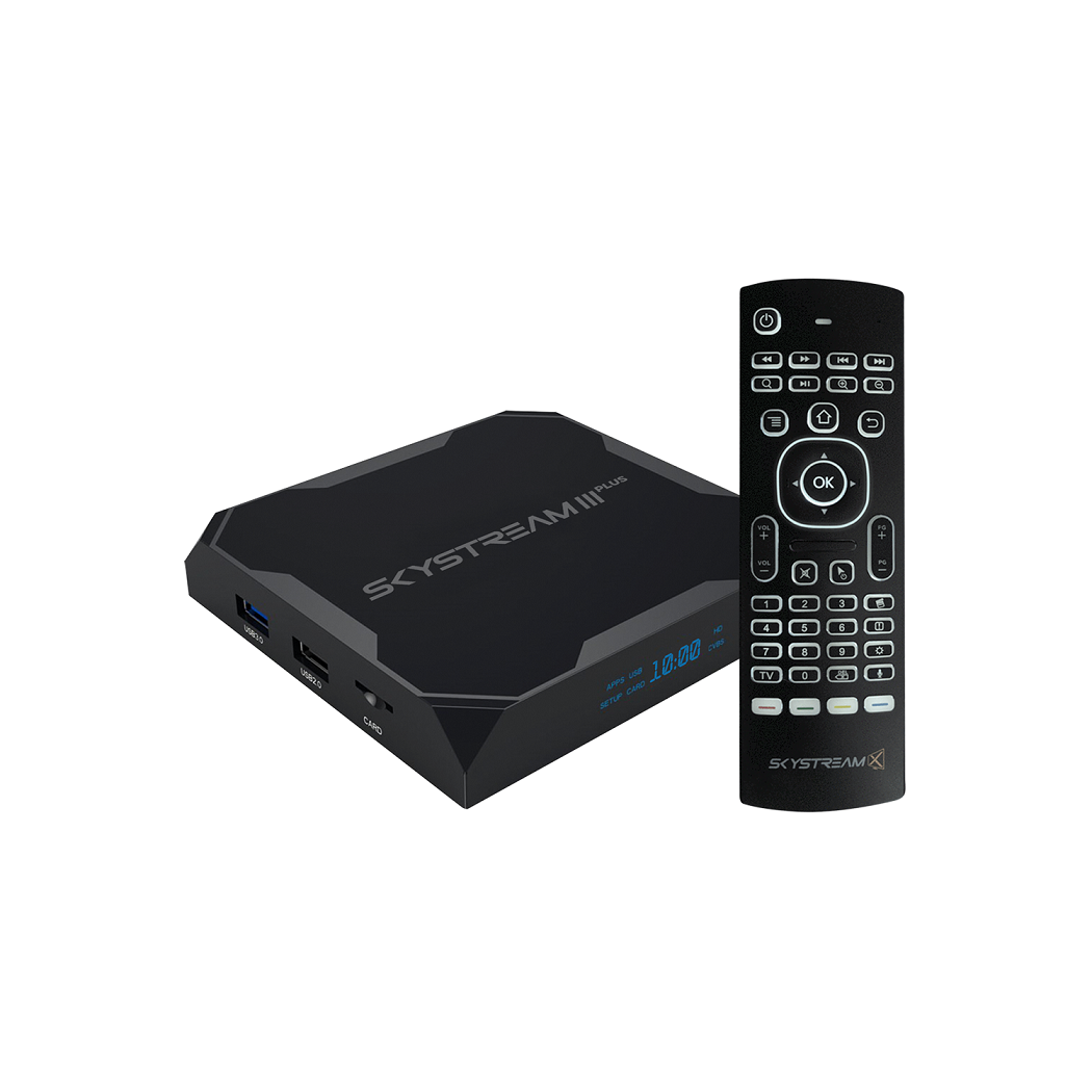 9415045a1ae SkyStream Three PLUS Android TV Box with Air Mouse Remote   SkyStream Media  Player   Stream Movies, TV Shows & Sports