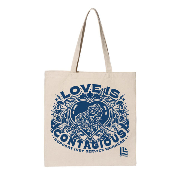 Guide & Anchor: Love is Contagious Tote