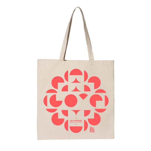 Matinee Creative: Love is Contagious Tote