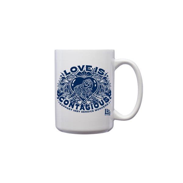 Guide & Anchor: Love is Contagious Mug