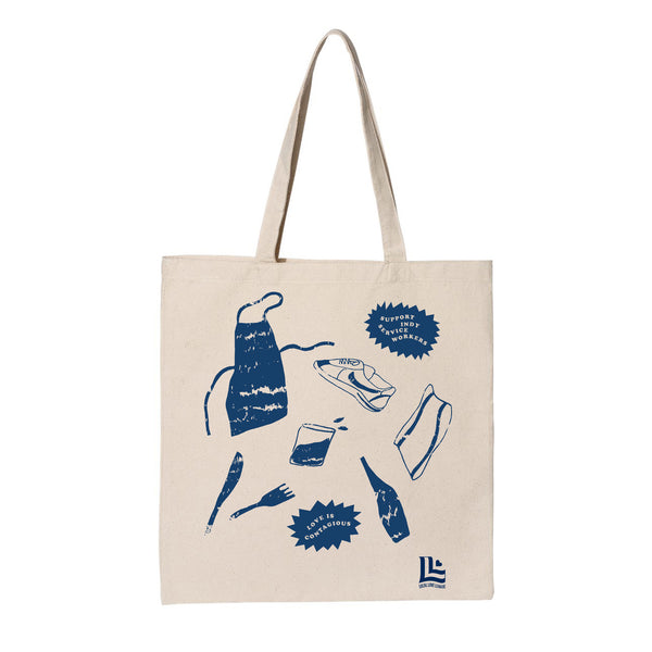 Rebekah Nolan: Love is Contagious Tote