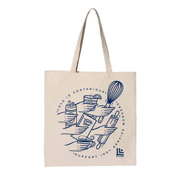 Ross Shafer: Love is Contagious Tote