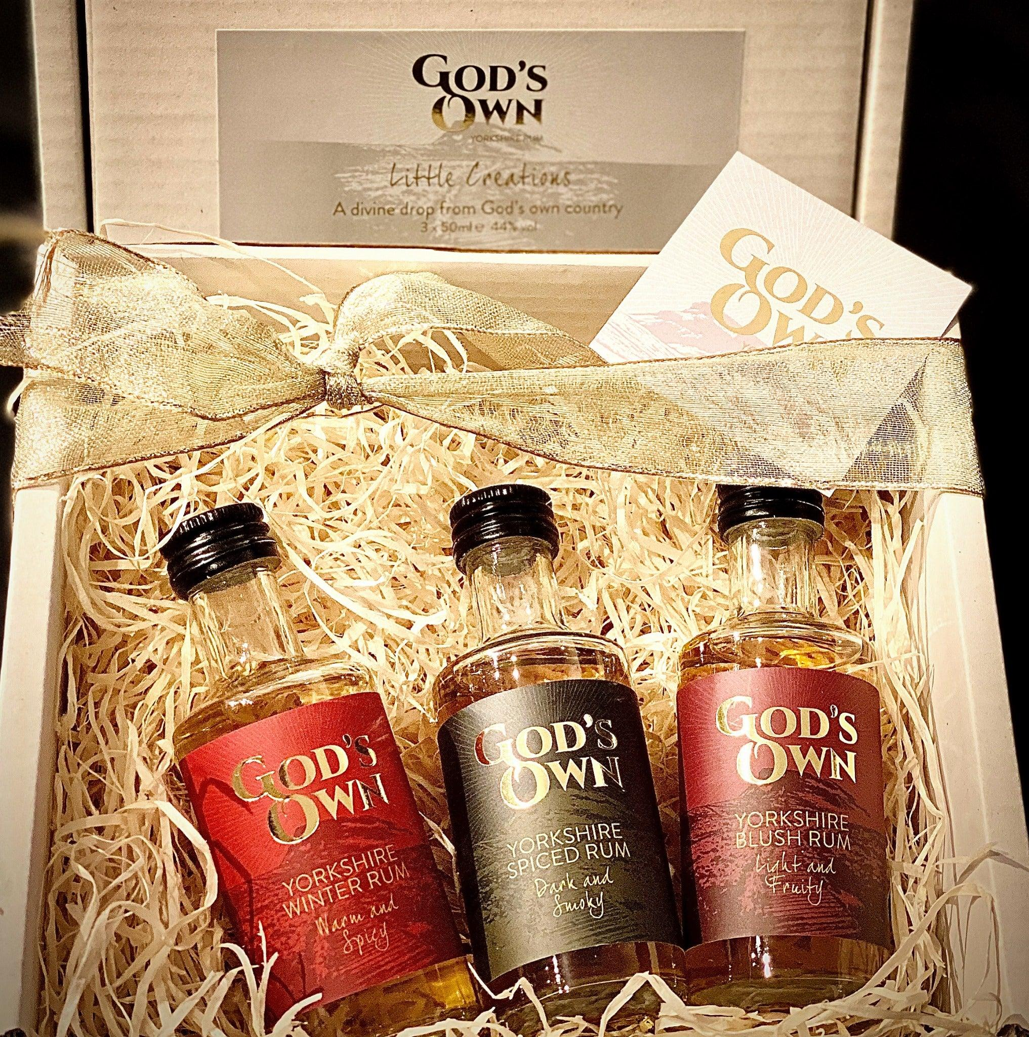 God's Own Rum - Golden Cheese Box 200g (cheese weight) - Celebration Cheeses