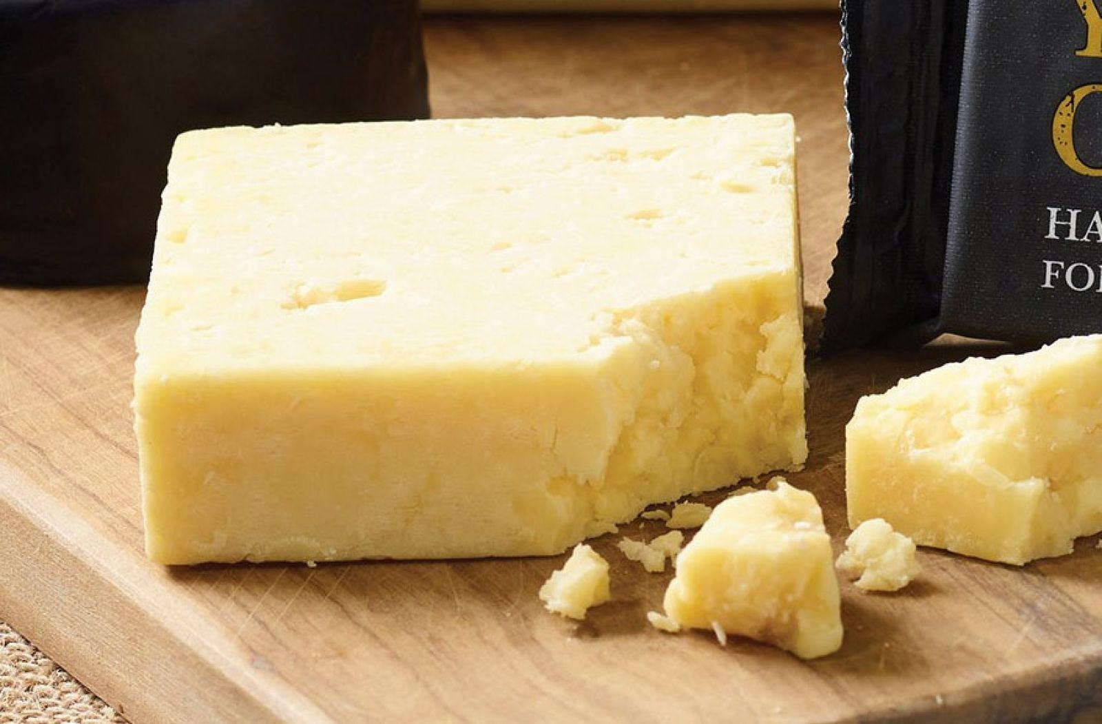 Wensleydale Fountains Gold Cheddar 200g - Celebration Cheeses