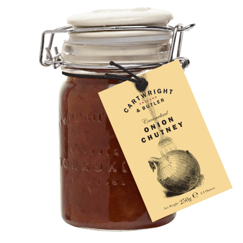 Cartwright & Butler Caramelised Onion Chutney 250g - Celebration Cheeses
